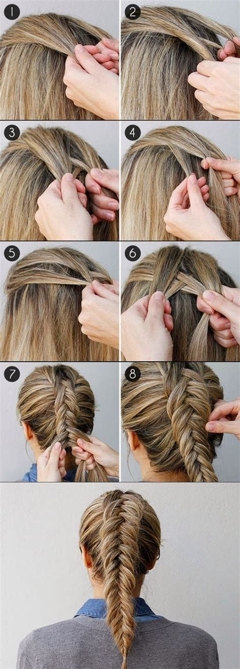 15 fishtail braids you should 25 best ideas about how to braid on how to