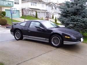 Pontiac Fiero 1986 1986 Pontiac Fiero Pictures Cargurus