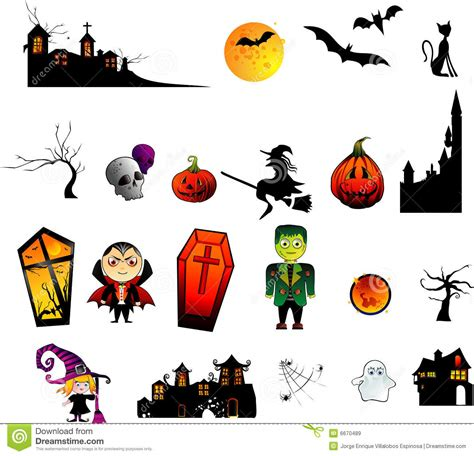 imagenes halloween vectores halloween vector characters royalty free stock images