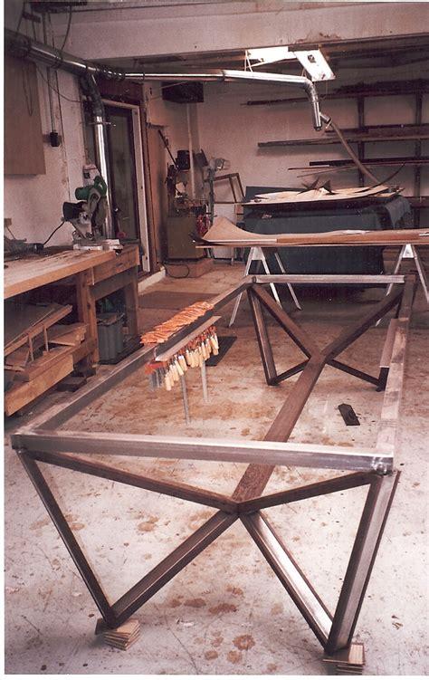 Handmade Steel Furniture - weld welding welder table on welding table