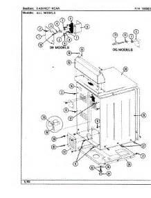 parts for maytag ldg8500aaw dryer appliancepartspros