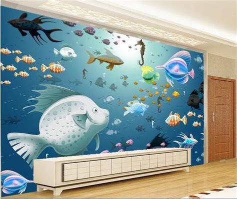 aquarium design delhi fish aquarium wall design stickers fish aquarium wall
