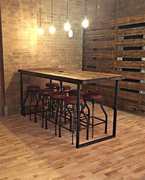 Restaurant Stools And Tables best 25 bar tables ideas on bar table and