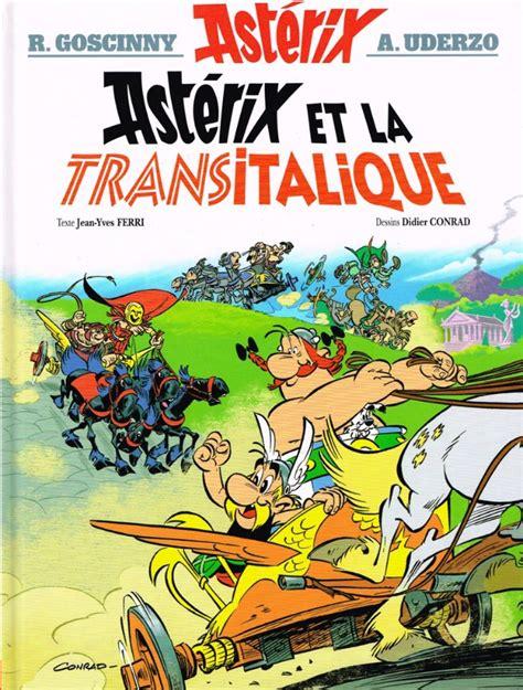 asterix 37 astrix en ast 233 rix 37 ast 233 rix et la transitalique