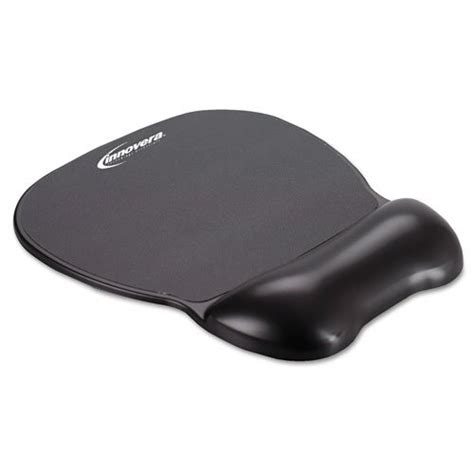 carpal pad innovera gel mouse pad with wrist rest carpal tunnel gadgets