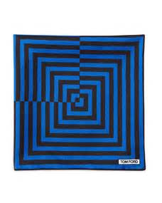 brown pattern pocket square tom ford linear pattern pocket square brown blue