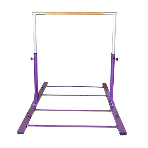 Gymnastics Junior Kip Bar Purple Adjustable Horizontal Bar