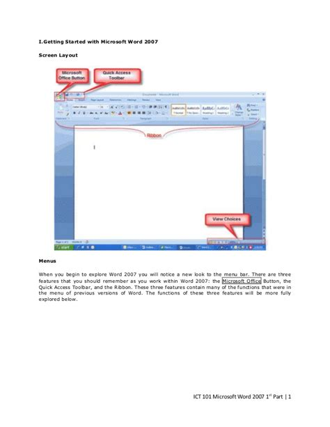layout of microsoft word 2007 microsoft word 2007 screen layout pictures to pin on