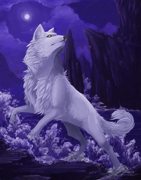 Anime Wolf by Wolves Dogs Anime Pictures Right Here