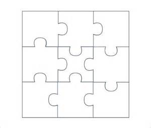 template for puzzle pieces puzzle template free premium templates