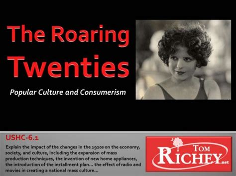 pop the exchange of consumerism and culture the roaring twenties pop culture and consumerism