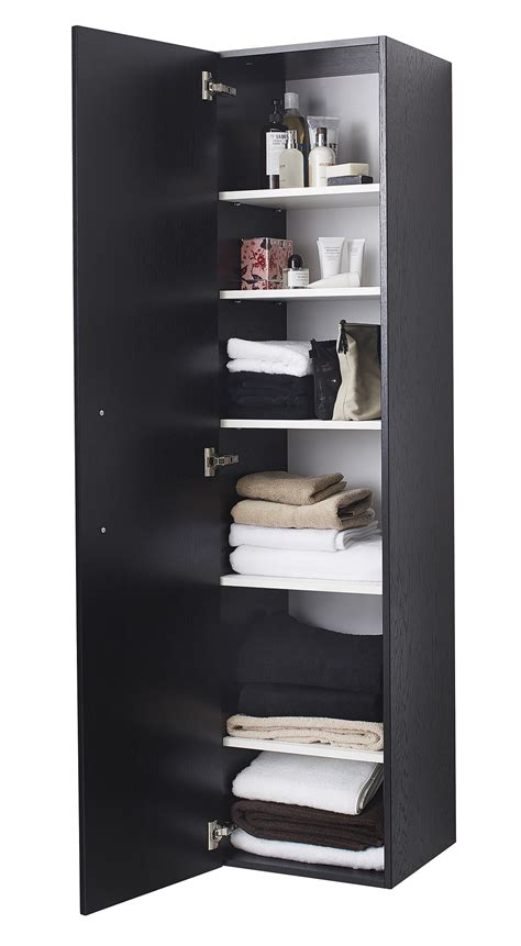black single door storage cabinet miller new york black single door tall cabinet 400 x