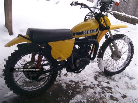 vintage yamaha motocross 1974 yamaha 100mx vintage motocross mx 100
