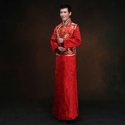 Baju Cina Cheongsam Bordir cheongsam pria beli murah cheongsam pria lots from china cheongsam pria suppliers on aliexpress
