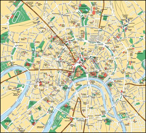 moscow map moscow map moscow russia mappery