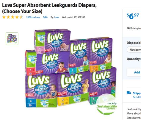 printable luvs diaper coupons luvs diapers coupon 1 50 off one luvs super absorbent