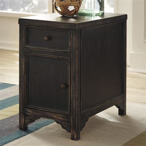 ashley furniture accent tables ashley signature design gavelston distressed chair side