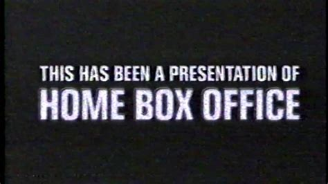this has been a presentation of home box office 2001