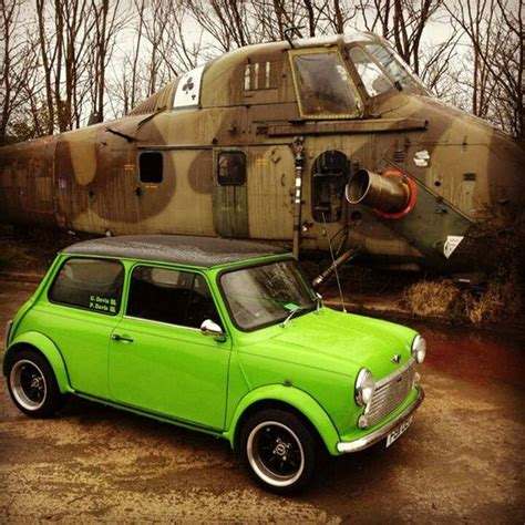 Klebebuchstaben Old English by Mini Cooper In Lime Green Rainbow Of Minis Pinterest