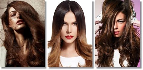 farbe za kosu za ombre najpopularnije boje kose za jesen zimu friz