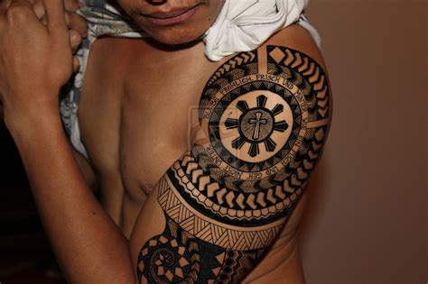 traditional filipino tattoo designs design by pgwales on deviantart