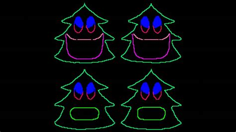 christmas singing lights 12 days of singing trees for light o rama