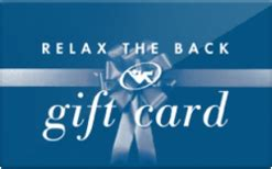 Buy Gift Cards Back - buy relax the back gift cards raise