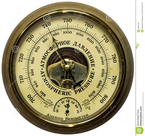 how to use the aneroid barometer i comparisons in the field ii experiments in the workshop iii upon the use of the aneroid barometer in iv recapitulation classic reprint books oldstyle aneroid barometer stock image image of vintage