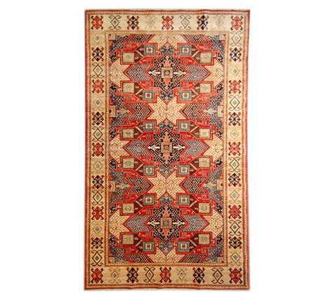 arzu rugs arzu studio chains of knotted rug pottery barn