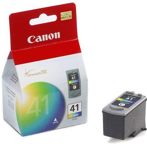 Dijamin Cartridge Canon 41 Color canon cl 41 tri color ink tank 0617b002 b h photo