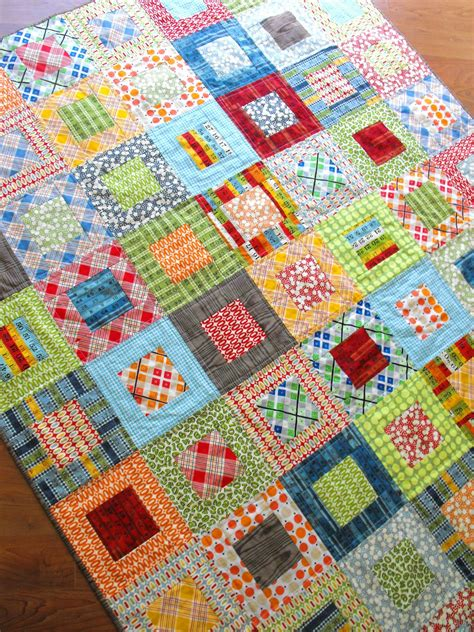 Quilt Designs Using Squares by Fussy Cut Elijah S Quilt Square In Square