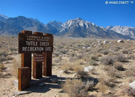 lone park lights blm cground review tuttle creek lone pine ca
