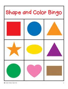 shapes and colors free bingo clip cliparts co