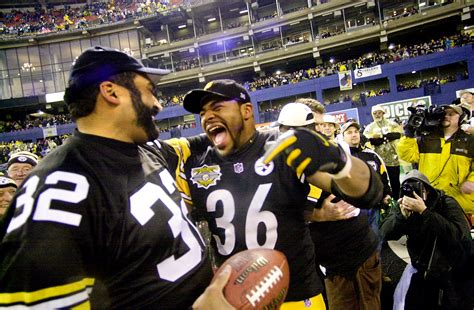 steel curtain hall of famers jerome bettis hall of fame career connects super bowl eras