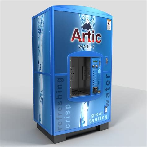 water vending machine 3d model