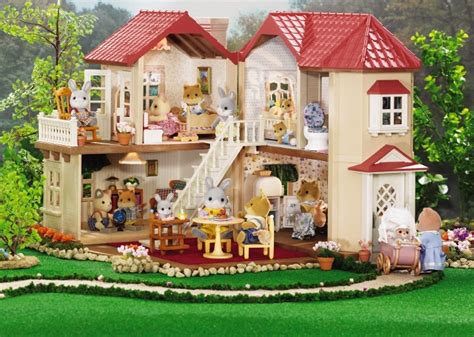 calico critters doll house 435 best famille sylvanian jouet images on pinterest