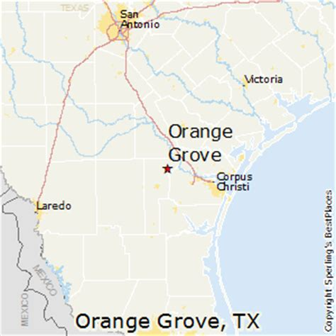 orange texas map best places to live in orange grove texas