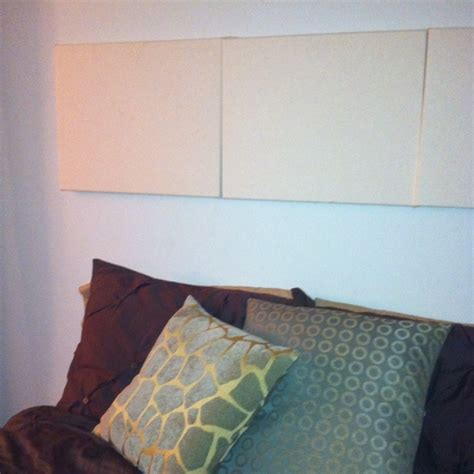 diy canvas headboard diy headboard cover a canvas with desired fabric use