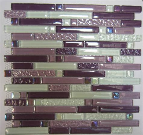 purple kitchen backsplash purple glass mosaic tile backsplash sgmt063 white glass