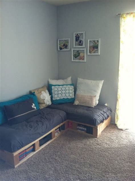 diy living room furniture diy pallet couch attractive addition for living room
