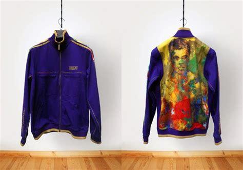 Jaket Adidas Muhammad Ali muhammad ali values jacket leroy neiman artwork by adidas