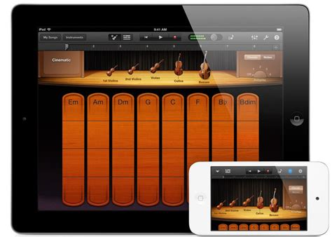 Garageband Apple Apple S Garageband App Adds Icloud And Real Time