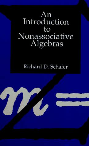 an introduction to nonassociative algebras dover books on mathematics books an introduction to nonassociative algebras link