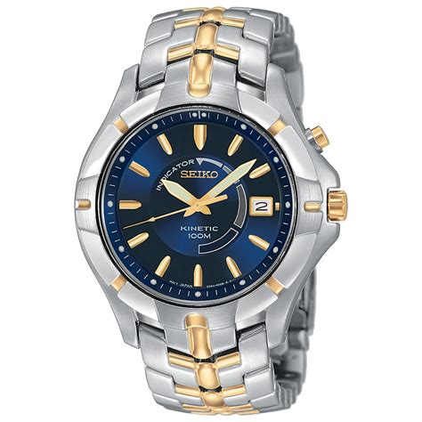 s seiko 174 kinetic two tone 187689 watches at