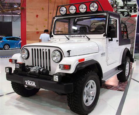 jeep car mahindra mahindra thar wikipedia