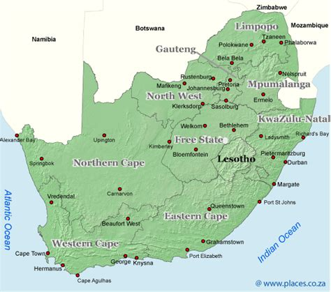 South Africa Finder Accommodation In South Africa