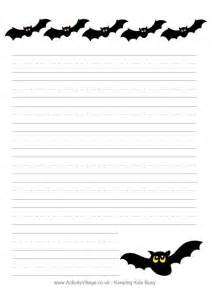 Halloween Writing Paper Template Gallery For Gt Halloween Writing Paper Template