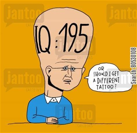 tattoo iq quiz intellectual cartoons humor from jantoo cartoons