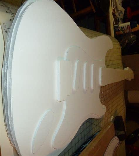 How To Make A Paper Mache Guitar - tom hokanson the ultimate paper mache guitar