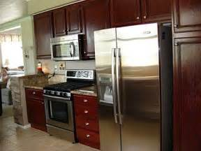 small restaining kitchen cabinets ideas for the home